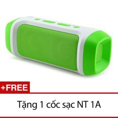 Bán Loa Bluetooth Jy 23 Đa Chức Năng Xanh La Tặng 1 Cốc Sạc Nt 1A Hồ Chí Minh