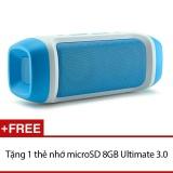 Ôn Tập Loa Bluetooth Jy 23 Đa Chức Năng Xanh Tặng 1 Thẻ Nhớ Microsd 8Gb Ultimate 3 Oem