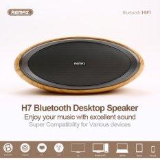 Giá Bán Loa Bluetooth Khong Day Để Ban Cao Cấp Remax Rb H7 Sieu Trầm Hinh Bầu Dục Van Gỗ Đại Sieu Thị Việt Nam Hà Nội