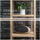 Ôn Tập Loa Bluetooth Khong Day Để Ban Cao Cấp Remax Rb H7 Sieu Trầm Hinh Bầu Dục Van Gỗ Kingstore