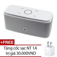 Mua Loa Bluetooth Kingone F8 Trắng Tặng 1 Cốc Sạc Nt 1A Rẻ