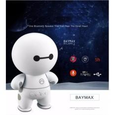 Hình ảnh Loa Bluetooth Mini Hình Robot A9 Loa Bluetooth Cầm Tay Big Hero Speaker - Trắng