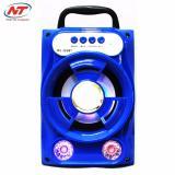 Mua Loa Bluetooth Mini Xach Tay Ms 202Bt 8W Đen Led Xanh Dương Rẻ