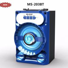 Mua Loa Bluetooth Mini Xach Tay Ms 203Bt 8W Đen Led Xanh Oem Nguyên