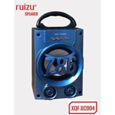 Loa Bluetooth Mini Xach Tay Ruizu Xqf Xc004 Co Đen Led Xanh Hang Phan Phối Chinh Thức Vietnam Chiết Khấu 50