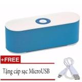 Bán Loa Bluetooth S207 Xanh Tặng Cap Sạc Micro Usb Có Thương Hiệu Rẻ