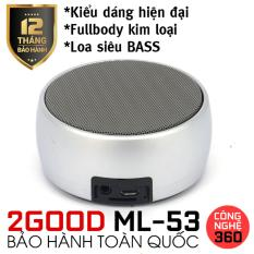 Loa bluetooth siêu bass 2GOOD ML-53