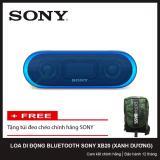 Mã Khuyến Mại Loa Bluetooth Sony Srs Xb20 Extra Bass Xanh Dương Tặng Tui Đeo Cheo Chinh Hang Sony Sony