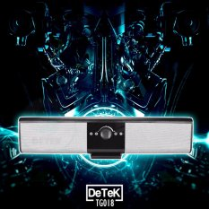 Cửa Hàng Loa Bluetooth Soundbar Detek Tg018 Bạc Detek Vietnam