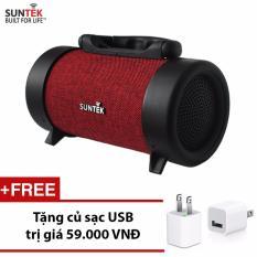 Mua Loa Bluetooth Suntek Ch M03 Đỏ Đen Tặng Củ Sạc Usb Trị Gia 59 000 Vnđ Rẻ Vietnam