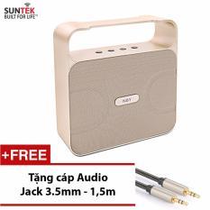 Mua Loa Bluetooth Suntek Nby 360 Vang Tặng Kem Cap Audio Jack 3 5Mm 2 Đầu Trị Gia 109000Đ Trực Tuyến Rẻ