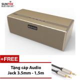 Loa Bluetooth Suntek S323 Vang Đồng Tặng Kem Cap Audio Jack 3 5Mm 2 Đầu Cao Cấp Trị Gia 109000Đ Suntek Chiết Khấu 50