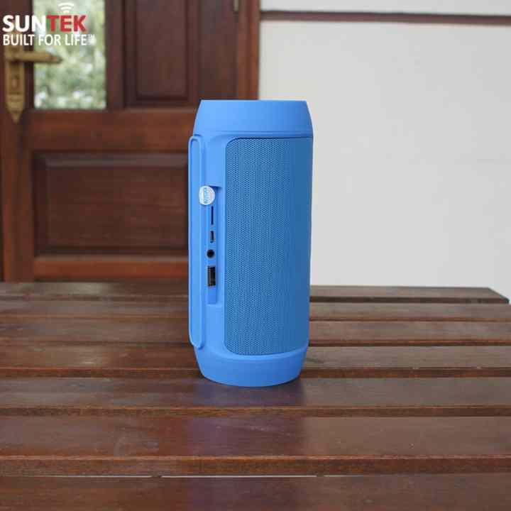 Loa bluetooth SUNTEK S9 kiêm pin sạc dự phòng (Xanh)