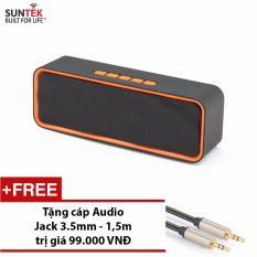Mua Loa Bluetooth Suntek Sc211 Cam Đen Tặng Cap Audio Jack 3 5Mm Trực Tuyến