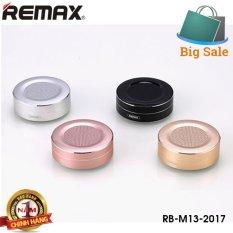 Mua Loa Di Động Cao Cáp Bluetooth V4 1 Thiết Kế Nhom Nguyen Khối Remax Rb M13 Rẻ Trong Hà Nội
