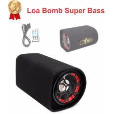 Giá Bán Loa Di Động Crown Bomb Sieu Bass Cỡ Số 6 Chạy Điện Lưới 220V Điện Ắc Quy O To 12V 24V Crown Trực Tuyến