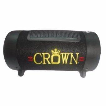 Loa Crown số 4 tròn + tặng dây 2 đầu 3.5