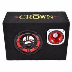 Ôn Tập Loa Di Động Đa Năng Nghe Thẻ Nhớ Usb Bluetooth Crown Vuong Số 6 Crown
