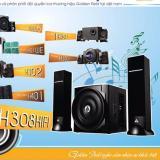 Ôn Tập Loa Golden Field H308 Hifi 2 1 Usb Bluetooth Sd Fm Tặng 3 Moc Treo Sieu Dinh Thần Thanh Golden Field