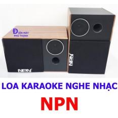 Hình ảnh Loa karaoke giá rẻ loa nghe nhạc gia đình NPN PT2TR hát karaoke hay giá rẻ