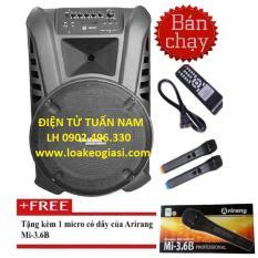 Giá Bán Loa Keo Bluetooth Caliana Tn 15 4 Tấc Tặng Micro Arirang Có Thương Hiệu