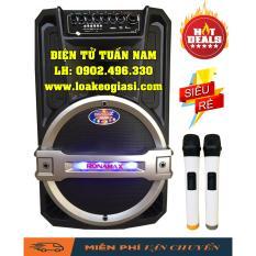 Ôn Tập Loa Keo Bluetooth Ronamax T12 3 Tấc Cực Hay
