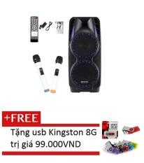 Bán Loa Keo Bluetooth Temeisheng A73 Đen Tặng 1 Usb Kingston 8Gb Mau Sắc Ngẫu Nhien Hồ Chí Minh Rẻ