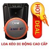 Loa Keo Di Động Bluetooth 4 5 Tấc Loa Kẹo Keo Ariying A1501 Tặng 2 Micro Cao Cấp Chiết Khấu An Giang