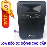 Ôn Tập Trên Loa Keo Di Động Bluetooth 4 5 Tấc Loa Kẹo Keo Ariying A1504 Tặng 2 Micro Cao Cấp
