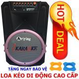 Cửa Hàng Bán Loa Keo Di Động Bluetooth Cao Cấp Loa Di Động Ariying B1201 2 Micro Tặng 2 Bảo Vệ