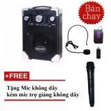 Mua Loa Keo Karaoke Di Động S8 Bluetooth Co Mic Trợ Giảng Mới Nhất