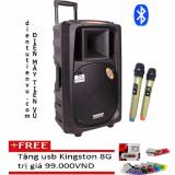 Ôn Tập Loa Keo Bluetooth Temeisheng Sl 16 5Tấc 2 Micro Vang Tặng Usb Kingston 8Gb Temeisheng
