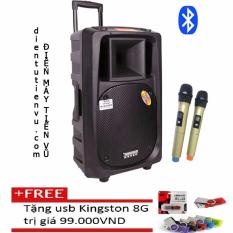 Ôn Tập Loa Keo Bluetooth Temeisheng Sl 16 5Tấc 2 Micro Vang Tặng Usb Kingston 8Gb