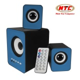 Ôn Tập Loa May Tinh Kem Bluetooth Usb Thẻ Nhớ Vision Vsp S 202Bt 2 1 Xanh Tặng Romote Hang Phan Phối Chinh Thức