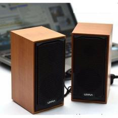Loa máy tính mini M22 giả vân gỗ cực sang trọng