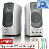 Loa May Vi Tinh Soundmax A 140 Tặng Đen Led Usb Ma L01 Nguyên