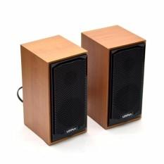 Loa mini 2.0 Loyfun M22 vân gỗ sang trọng, chất âm hay, giá rẻ
