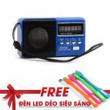 Giá Bán Loa Mini Ws 239 Nghe Nhạc Thẻ Nhớ Usb Fm Tặng Đen Led Dẻo Sieu Sang