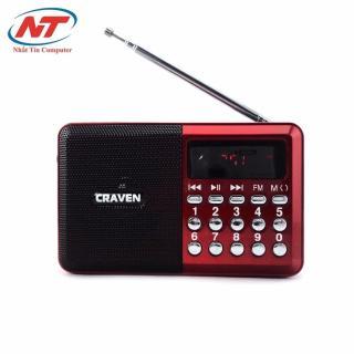 Loa nghe nhạc đa năng Craven CR-26 (Đỏ) - Nhất Tín Computer thumbnail