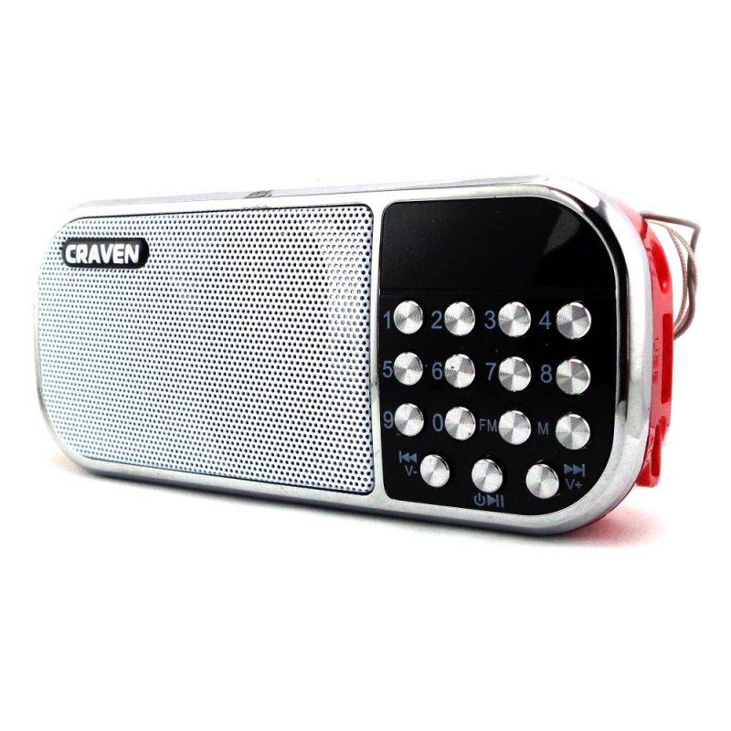 Loa nghe nhạc USB China Craven CR-22 (Đỏ)