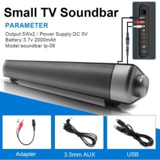 Loa siêu trầm thanh ngang cao cấp Sound bar Brilliant IP-08 (Đen) thumbnail