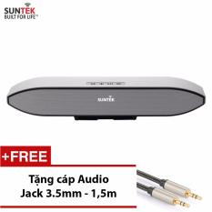 Giá Bán Loa Thanh Suntek 208S Bạc Tặng Kem Cap Audio Jack 3 5Mm 2 Đầu Cao Cấp Suntek