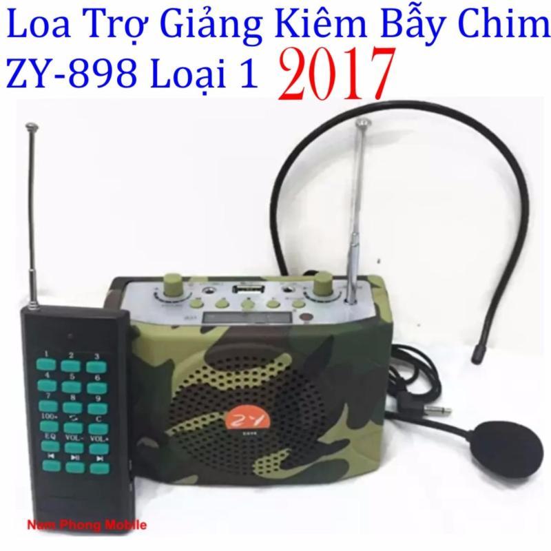 Loa trợ giảng Kiêm Bẫy Chim Không Dây ZY-898 - 2017 (Rằn ri)