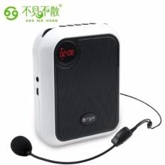 Loa trợ giảng mic không dây T200 hỗ trợ thẻ nhớ, USB, FM radio