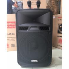 Giá Bán Loa Vali Keo Di Động Bluetooth Karaoke Temeisheng Sl15 05 Kem 02 Micro Khong Day Kim Loại Temeisheng Tốt Nhất