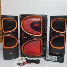 Loa vi tính 2.1 có karaoke - Bluetooth I-SKY SK 334