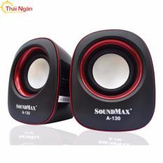 Ôn Tập Loa Vi Tinh Soundmax A 130 Đen Đỏ Mới Nhất
