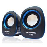 Giá Bán Loa Vi Tính Soundmax A130 2 Đen Viền Xanh Nhãn Hiệu Soundmax