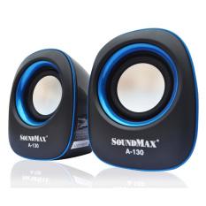 Giá Bán Loa Vi Tính Soundmax A130 2 Đen Viền Xanh Soundmax Nguyên