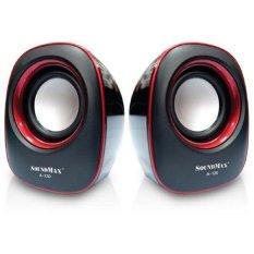Bán Loa Vi Tính Soundmax A130 Đen Viền Đỏ Rẻ
